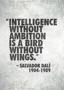 Intelligence & Ambition
